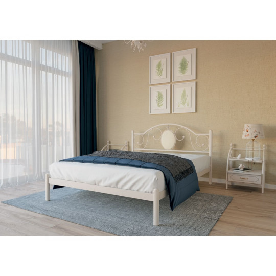 Кровать металлическая ЛаураМеталлдизайн