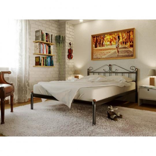 Кровать металлическая РозанаМетакам