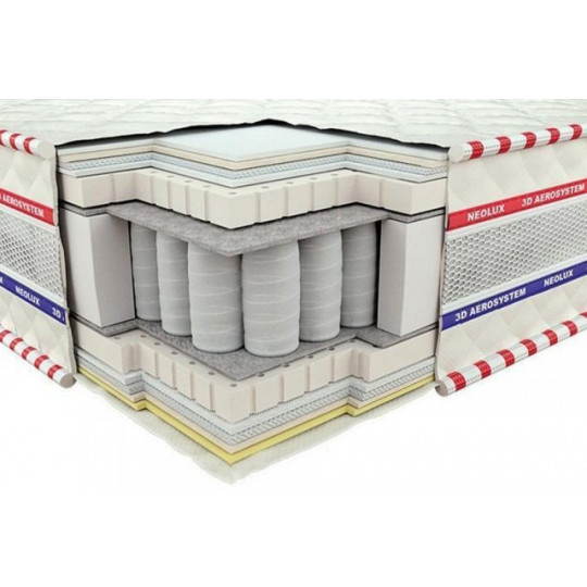 Матрас 3D ИМПЕРИАЛ ЛАТЕКС ЗИМА-ЛЕТО (Neolux)