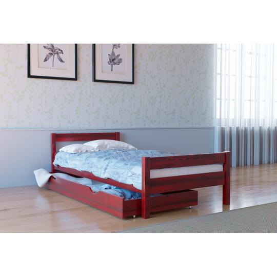 Кровать деревянная Л-120Скиф