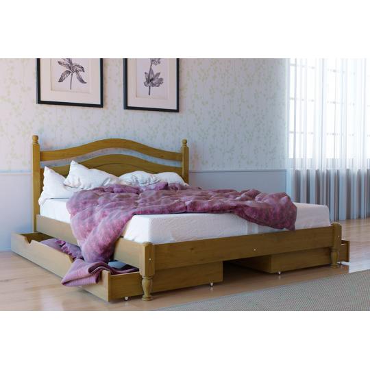 Кровать деревянная Л-208Скиф