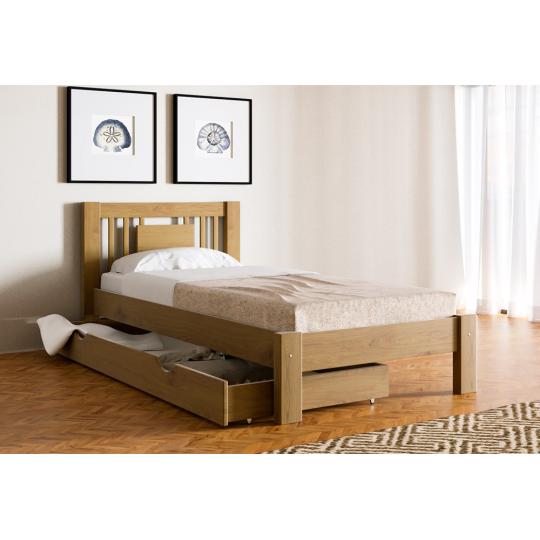 Кровать деревянная Л-121Скиф