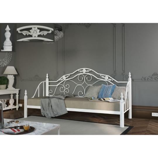 Кровать металлическая ЛЕОНМеталлдизайн