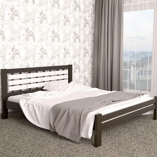 Кровать деревянная Гастия ( Мекано)