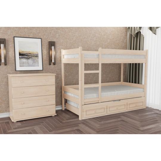 Кровать двухъярусная деревянная Л-306 из ДСП