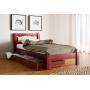Кровать деревянная Л-129Скиф