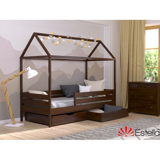 Кровать детская АММИ БУК щит из ДСП