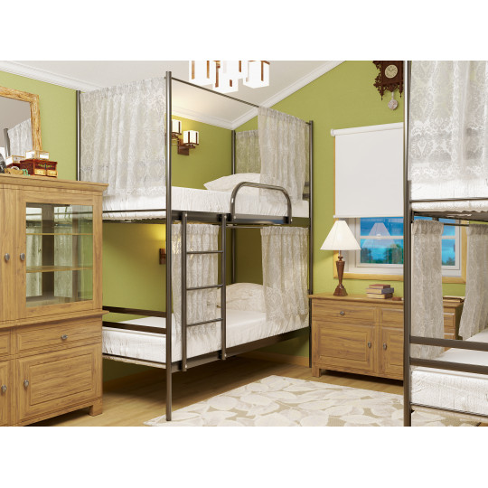 Кровать 2-х ярусная для хостелаМетакам