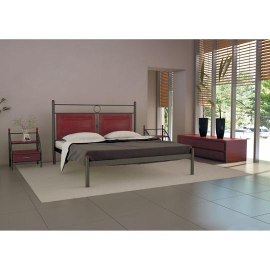 Кровать металлическая НИКОЛЬМеталлдизайн