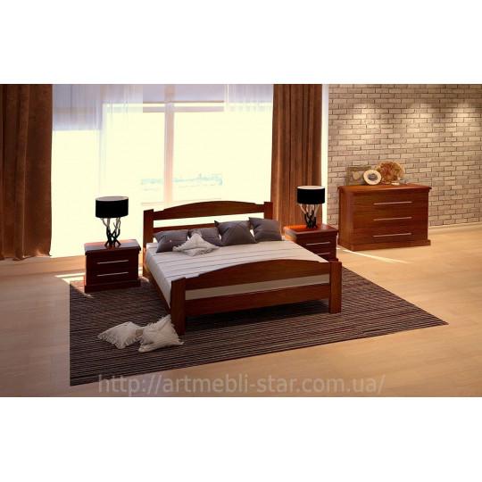 Кровать деревянная ЭдельART mebli