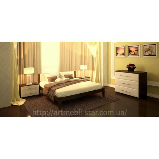 Кровать деревянная ФаворитART mebli