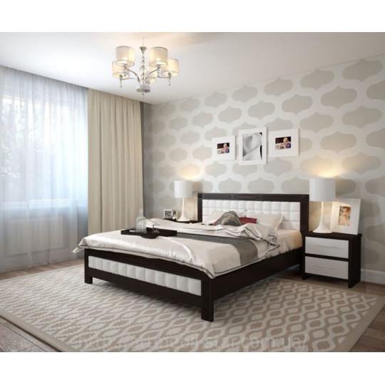 Кровать деревянная ФортунаART mebli