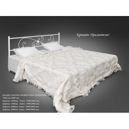 Кровать металлическая Хризантема