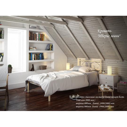 Кровать металлическая Иберис