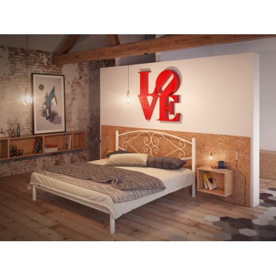 Кровать металлическая КамелияTENERO