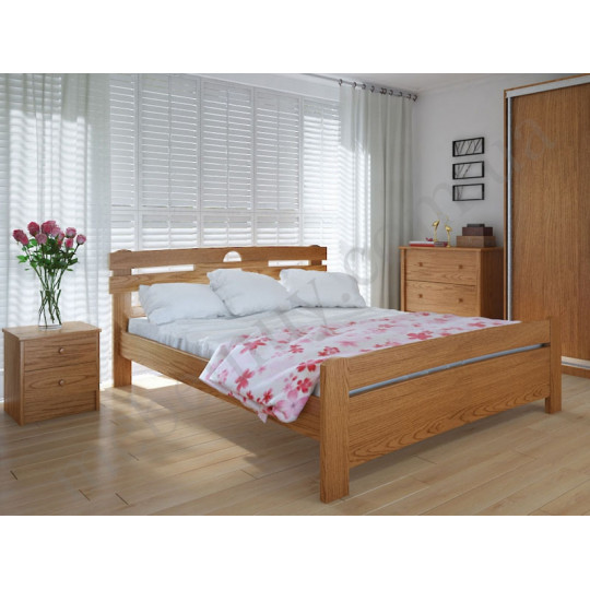 Кровать деревянная Кантри плюсMeblikoff