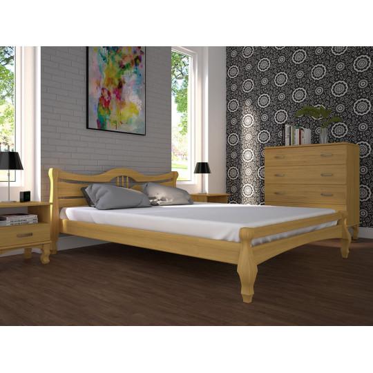Кровать деревянная Корона 1Тис