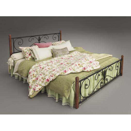 Кровать металлическая КрокусTENERO