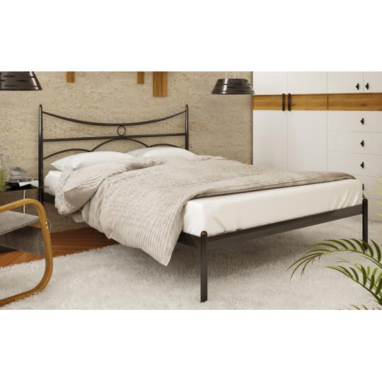 Кровать металлическая Барселона-1Метакам