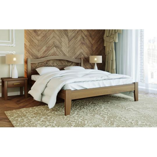 Кровать деревянная Афина 1ТМ Лев