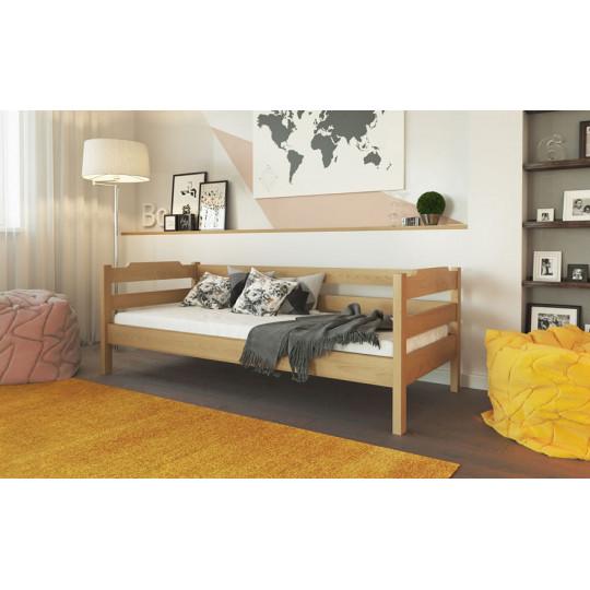 Кровать деревянная МиленаТМ Лев