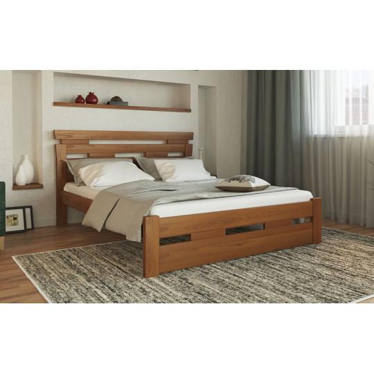 Кровать деревянная Зевс букТМ Лев