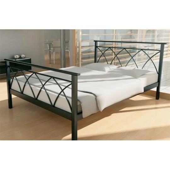 Кровать металлическая Диана-1Метакам