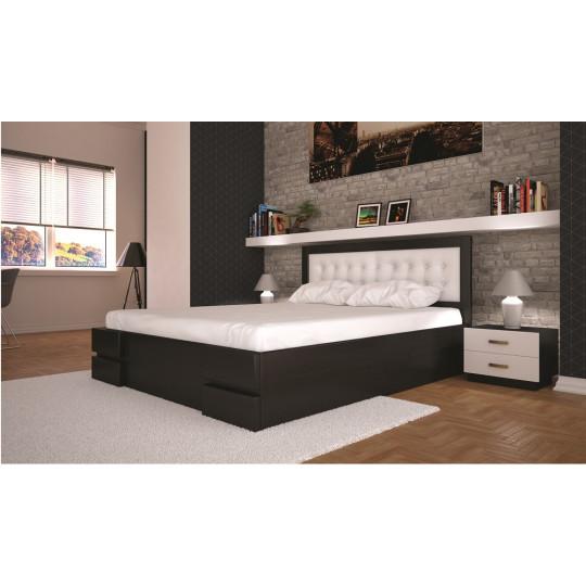 Кровать деревянная Кармен с подъемным механизмомТис