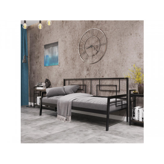 Кровать металлическая КвадроМеталлдизайн