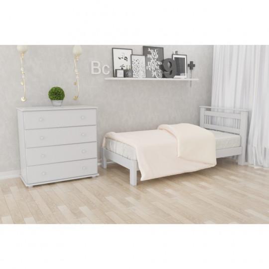 Кровать деревянная Л- 123Скиф