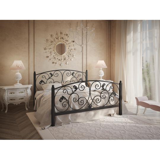 Кровать металлическая МагнолияTENERO