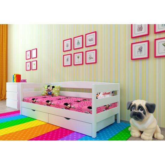 Кровать деревянная ЛёваMecano