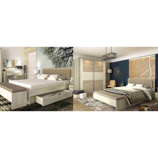 Кровать Милана из ДСП
