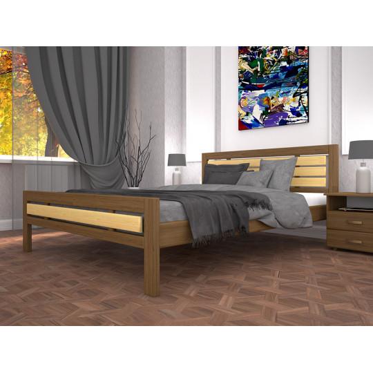 Кровать деревянная Модерн 1Тис