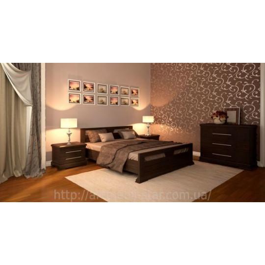 Кровать деревянная МодернART mebli