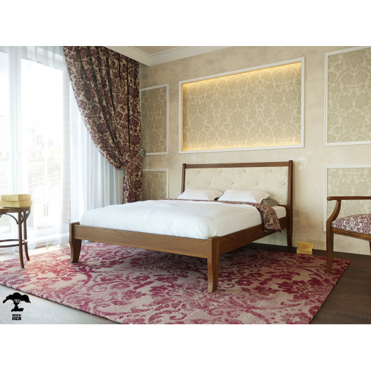 Кровать деревянная Монако 20*ТМ Лев