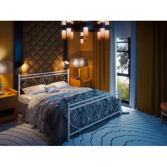 Кровать металлическая МонстераTENERO