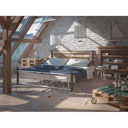 Кровать металлическая НарцисTENERO