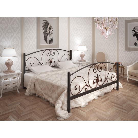 Кровать металлическая НимфеяTENERO