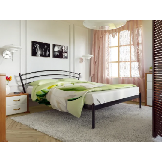 Кровать металлическая МаркоМетакам