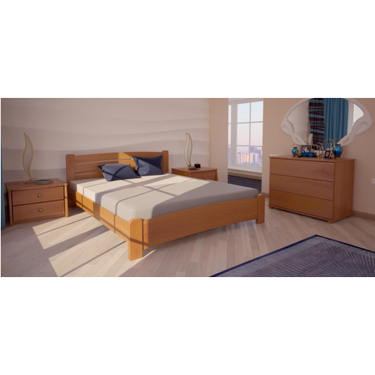 Кровать деревянная СиднейХМФ