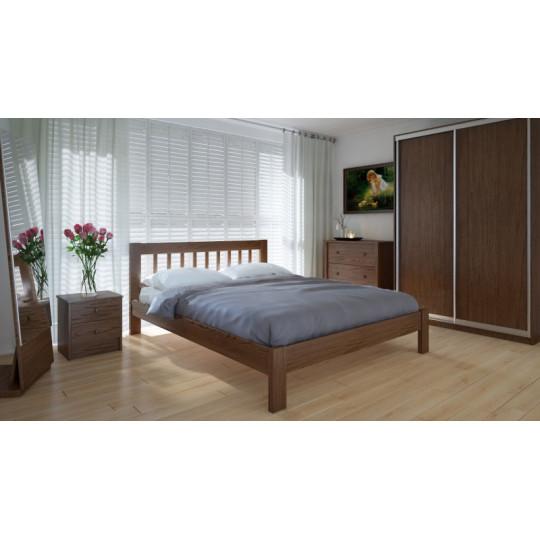 Кровать деревянная ВилиджMeblikoff