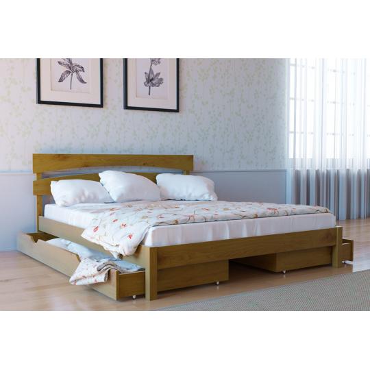 Кровать деревянная Л-214Скиф