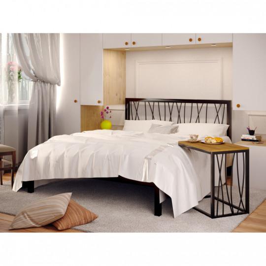 Кровать металлическая БергамоМетакам